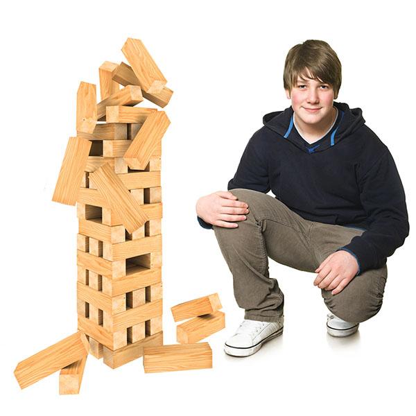 Настольная игра – Падающая башня гигант - Дженга, артикул: 162130