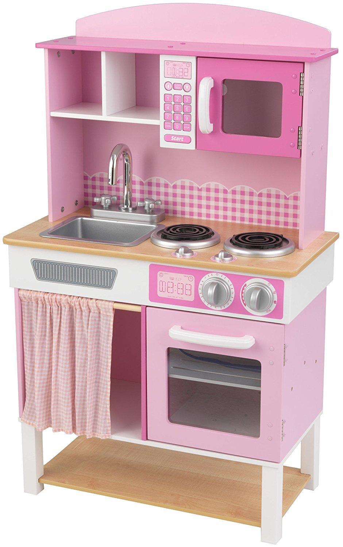 Детская деревянная кухня Домашний шеф-повар Home Cooking KitchenДетские игровые кухни<br>Детская деревянная кухня Домашний шеф-повар Home Cooking Kitchen<br>
