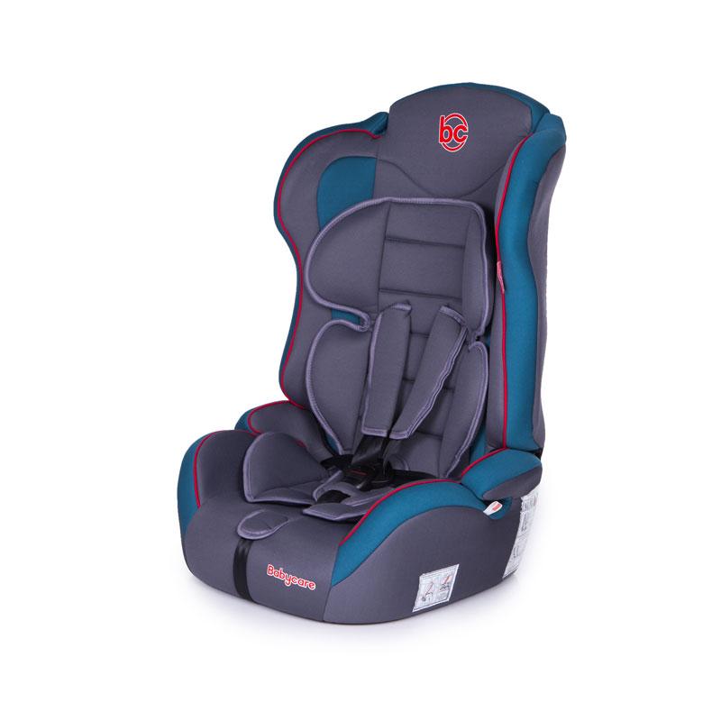 Детское автомобильное кресло Upiter Plus, цвет морской волны и серый, I/II/IIIАвтокресла (9-45кг)<br>Детское автомобильное кресло Upiter Plus, цвет морской волны и серый, I/II/III<br>