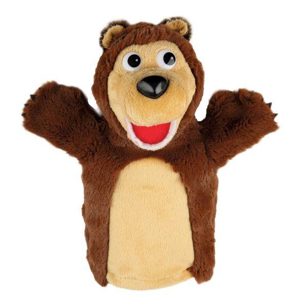 Мягкая игрушка на руку «Маша и Медведь»  Медведь - Детский кукольный театр , артикул: 139339