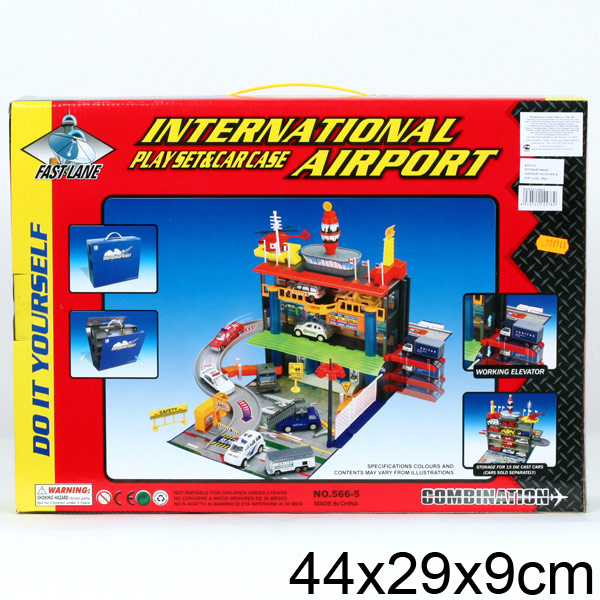 Игровой набор – Аэропорт, складывающийся sim)Детские парковки и гаражи<br>Игровой набор – Аэропорт, складывающийся sim)<br>