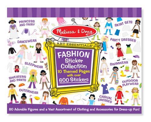 Купить Набор стикеров - Мода из серии Творчество, Melissa&Doug