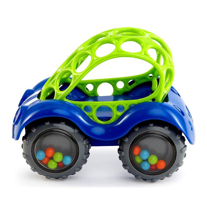 Купить Развивающая игрушка Машинка синяя, Oball