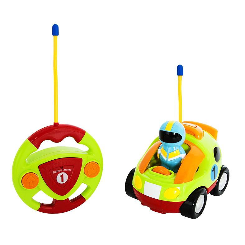 Радиоуправляемая игрушка - Гонщик, 2 канала, свет, музыка