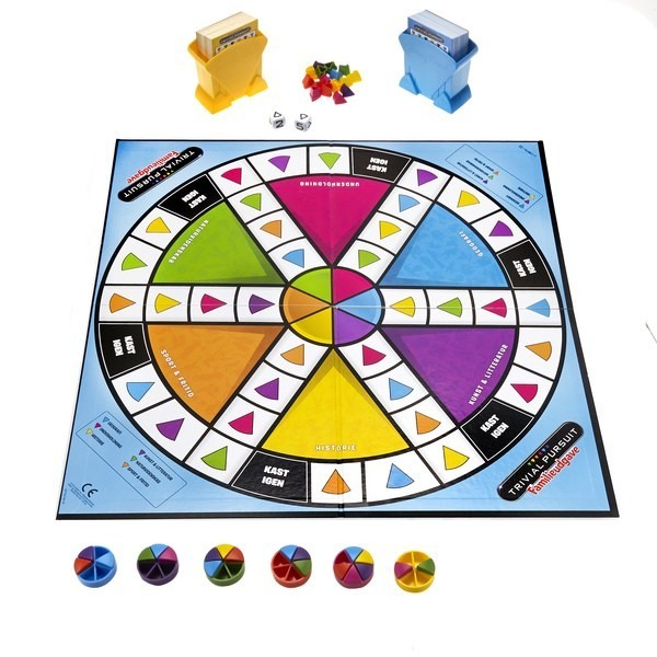 Купить Games Тривиал Пирсьюит - Семейная игра, 8+, Hasbro