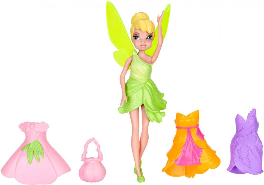 Игровой набор - Фея Динь-Динь с 3 дополнительными платьями, серия Disney FairiesФеи<br>Игровой набор - Фея Динь-Динь с 3 дополнительными платьями, серия Disney Fairies<br>
