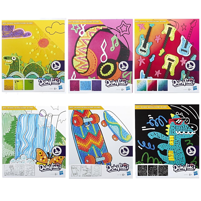 Купить Набор для творчества Dohvinci - Трафареты, Hasbro