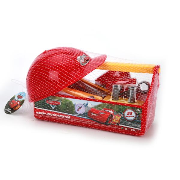 Набор строительных инструментов Тачки, в ящикеCARS 3 (Игрушки Тачки 3)<br>Набор строительных инструментов Тачки, в ящике<br>