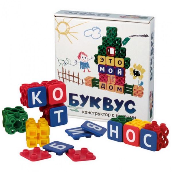 Конструктор с кубиками и буквами – БуквусКонструкторы других производителей<br>Конструктор с кубиками и буквами – Буквус<br>