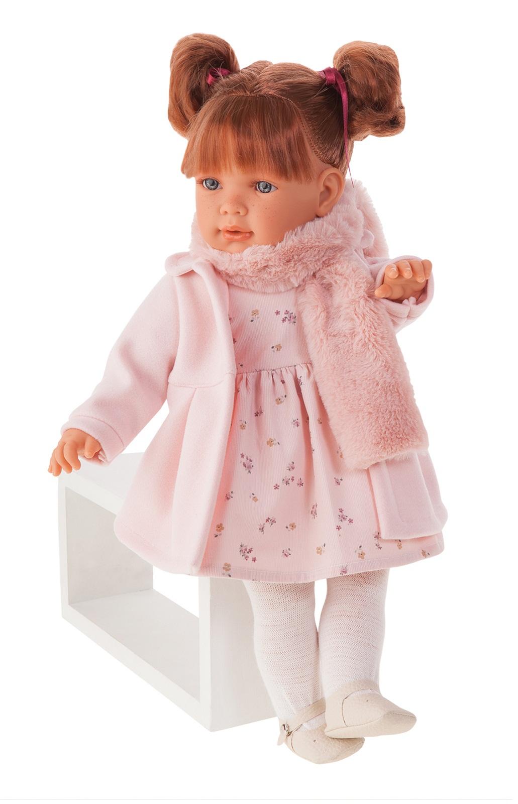 Кукла Марианна в розовом, 55 см