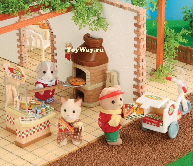 Набор ПиццерияПокупки и Продукты<br>В набор входят: печь с лопаткой для пиццы, касса...<br>