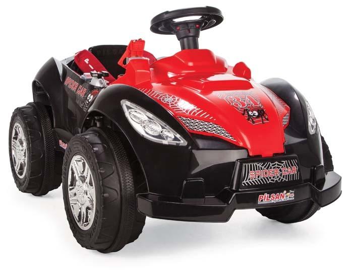 Электромобиль Spider, свет и звукЭлектромобили, детские машины на аккумуляторе<br>Электромобиль Spider, свет и звук<br>