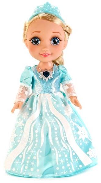 Купить Кукла Эльза из серии Холодное сердце, 35 см., озвученная, платье и амулет светятся, Карапуз