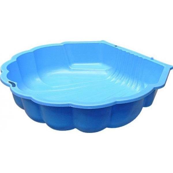 Одинарная песочница – Ракушка, голубая, ParaDiso  - купить со скидкой