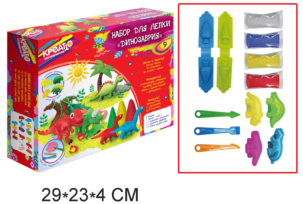 Набор для лепки «Динозаврия» из серии КреаттоНаборы для лепки<br>Набор для лепки «Динозаврия» из серии Креатто<br>