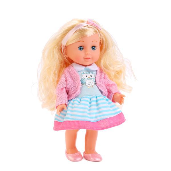 Кукла Полина озвученная, размер 25 см.Куклы Карапуз<br>Кукла Полина озвученная, размер 25 см.<br>