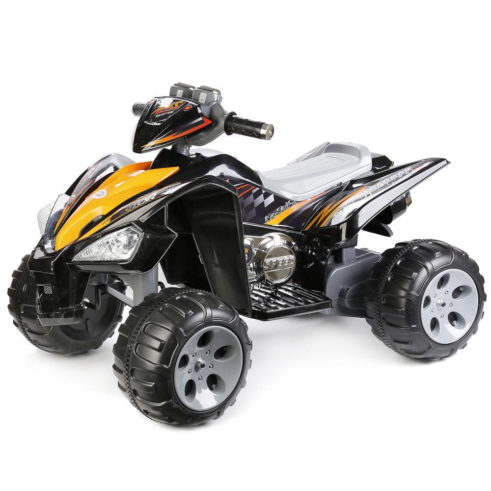 Купить Квадроцикл – Bugati, на аккумуляторе, черный, свет, звук