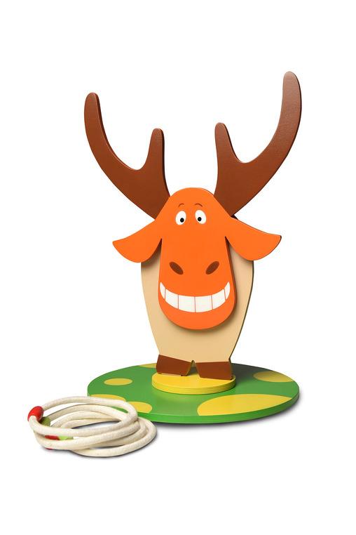 Игра Кольцеброс  Дикий веселый лось - Кольцебросы, артикул: 162337