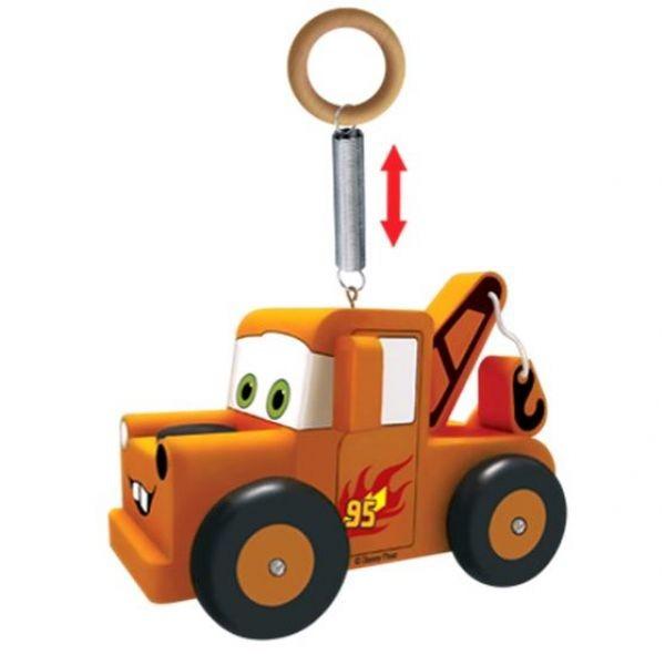 Деревянный попрыгунчик «Disney Тачки» - грузовик Мэтр от Toyway