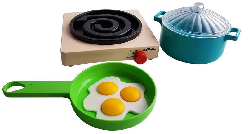 Купить Посуда с плитой - Летний, ПК Форма