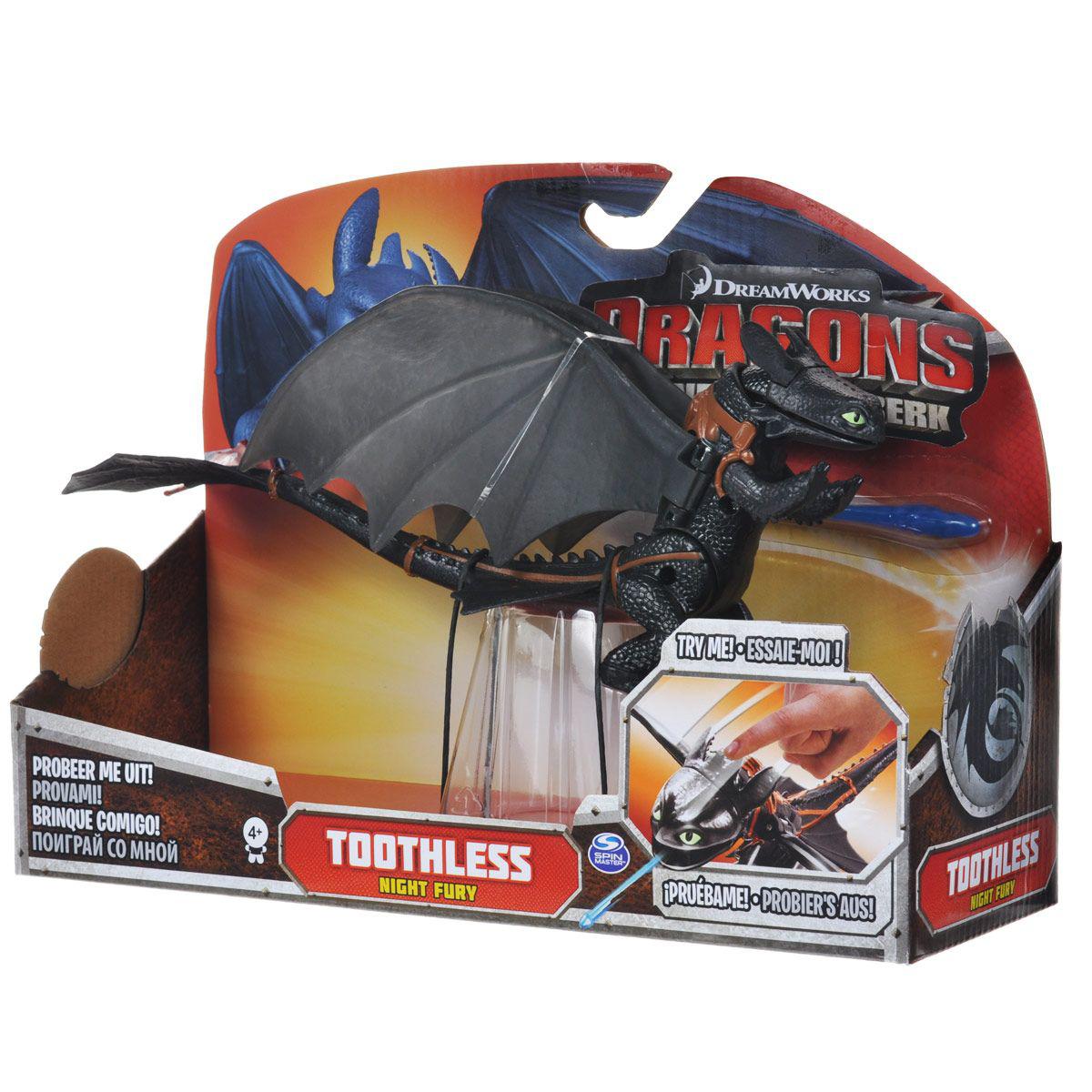 Функциональный дракон Dragons - Toothless. Беззубик от Spin Master ... 6190cf0ce2b74