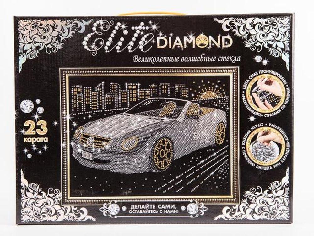 Набор для творчества из серии Стразы - Elite Diamond. Автомобиль по цене 459