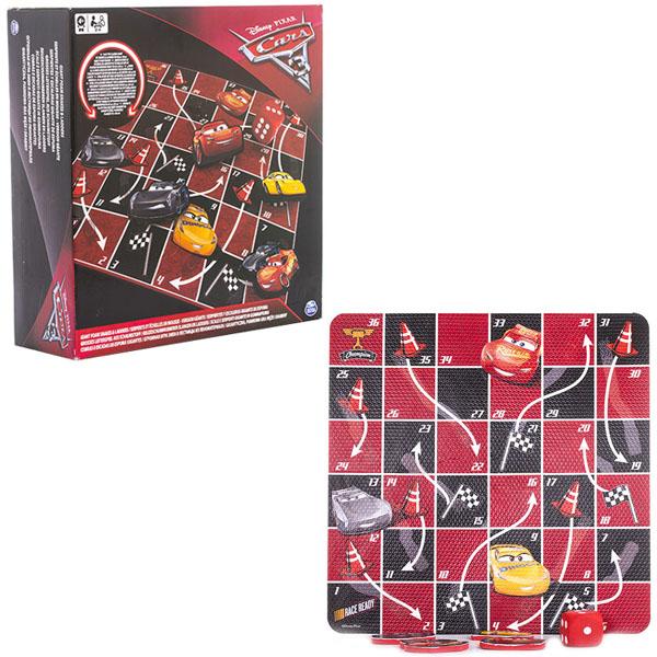 Настольная игра Disney Тачки-3 - Канаты и лестницыCARS 3 (Игрушки Тачки 3)<br>Настольная игра Disney Тачки-3 - Канаты и лестницы<br>