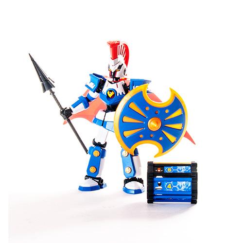 Развивающий конструктор - Ахиллес, LBX, Bandai, 84381 купить в интернет магазине игрушек ToyWay.ru