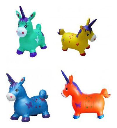 Животное-прыгун Единорог, 4 цветаДетские кресла-качалки<br>Животное-прыгун Единорог, 4 цвета<br>
