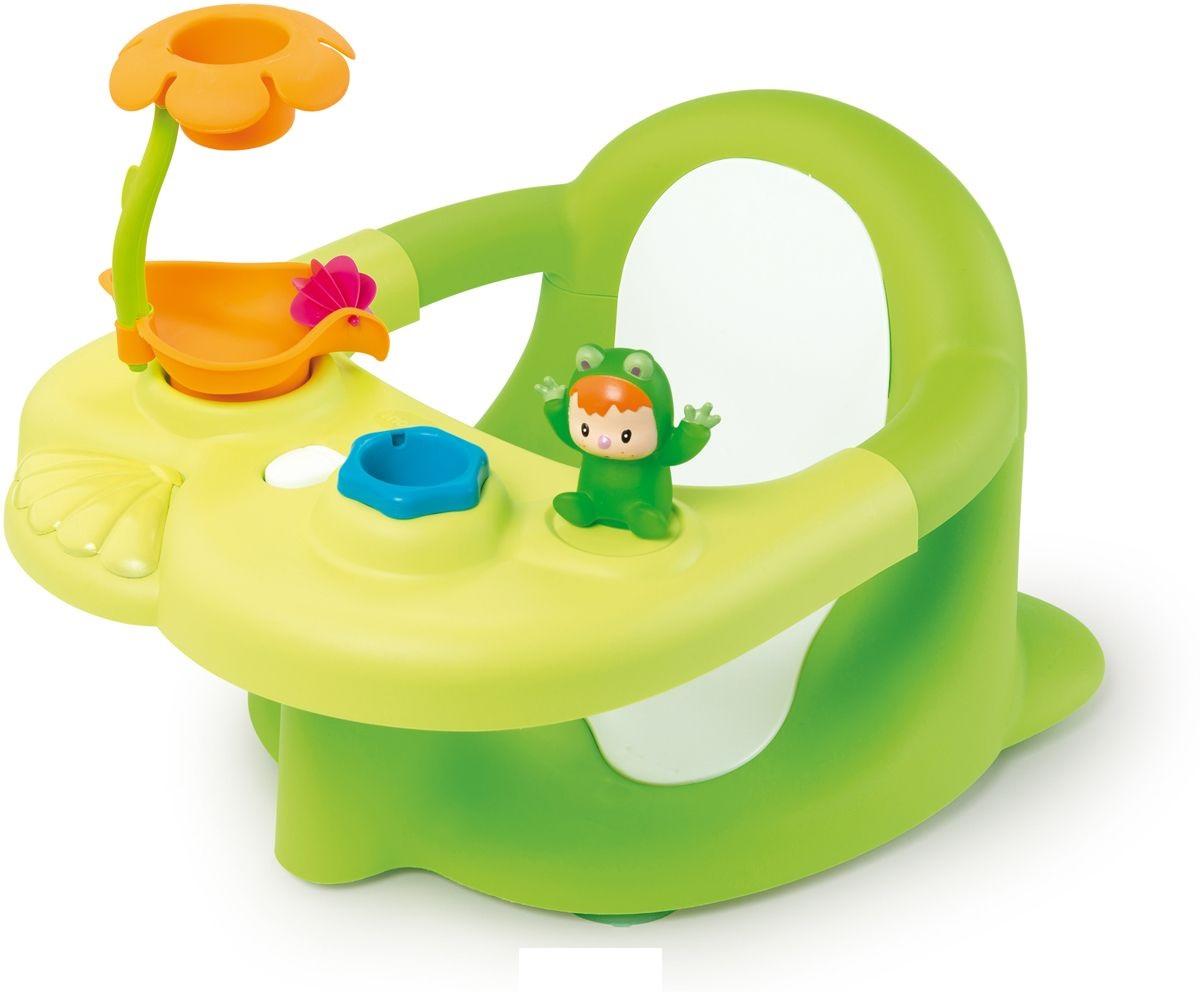 Купить Стульчик-сидение для ванной из серии Cotoons, цвет зеленый, размер 49 x 34 x 26 см., Smoby