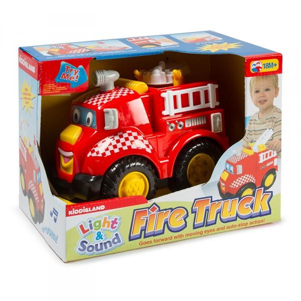 Развивающая игрушка - Пожарная машинаРазвивающие игрушки KIDDIELAND<br>Развивающая игрушка - Пожарная машина<br>
