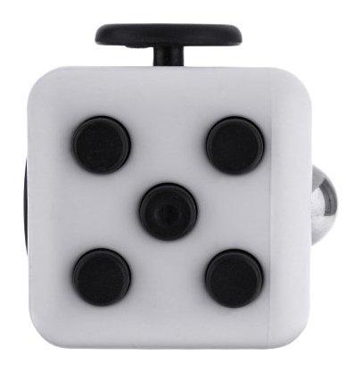 Игрушка-антистресс - FidgetCube Light, черно-белыйАнтистресс кубики Fidget Cube<br>Игрушка-антистресс - FidgetCube Light, черно-белый<br>