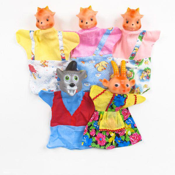 Кукольный театр - Козлята и волк