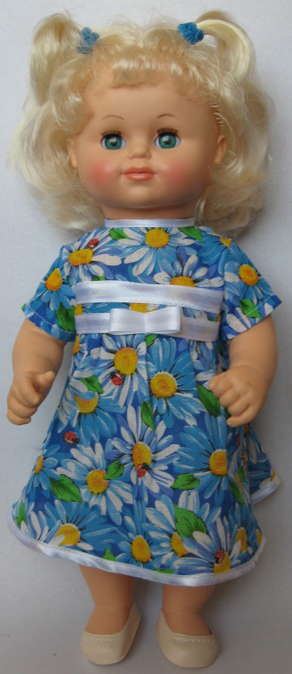 Кукла Соня 8 со звуковым устройством, высота 44 смРусские куклы фабрики Весна<br>Кукла Соня 8 со звуковым устройством, высота 44 см<br>