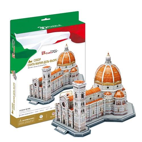 3D пазл Собор Санта-Мария-дель-Фьоре - Пазлы, артикул: 95643