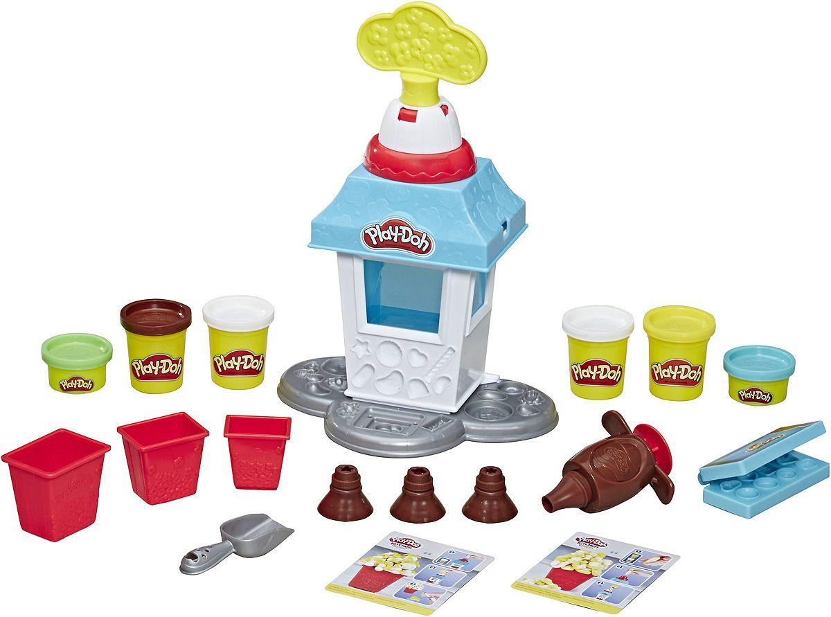 Купить Игровой набор для лепки Play-Doh - Попкорн-вечеринка, Hasbro