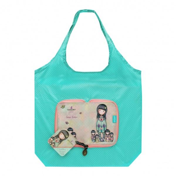 Складывающаяся сумка для покупок – Seven SistersGorjuss Santoro London<br>Складывающаяся сумка для покупок – Seven Sisters<br>