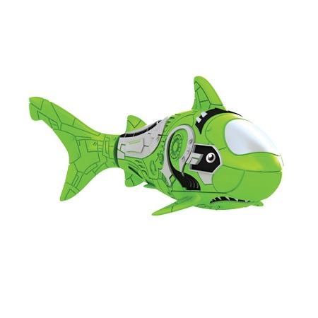 Зелёная акула РобоРыбка - Игрушки для ванной, артикул: 23517