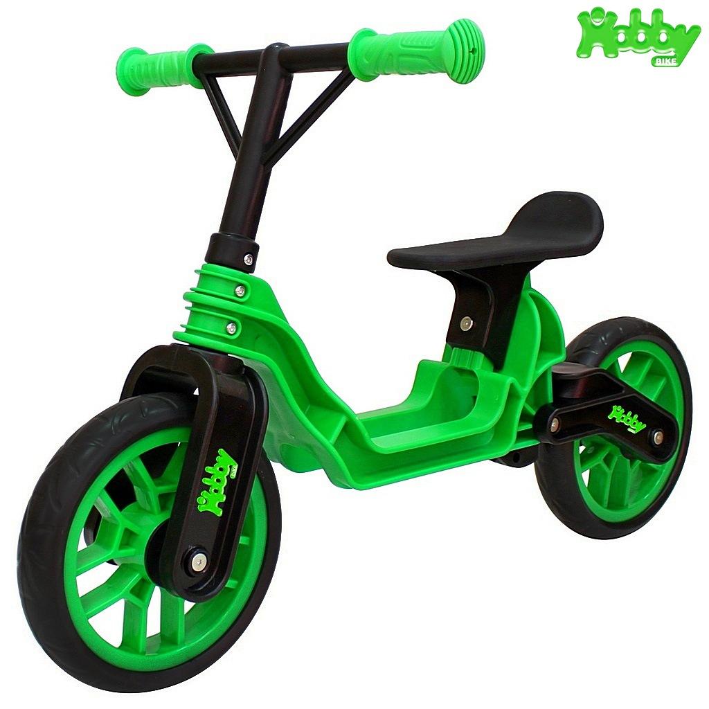 ОР503 Беговел Hobby bike Magestic, kiwi black