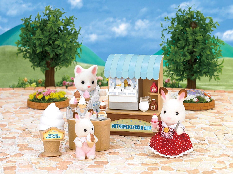 Sylvanian Families - Магазин мороженогоПокупки и Продукты<br>Sylvanian Families - Магазин мороженого<br>