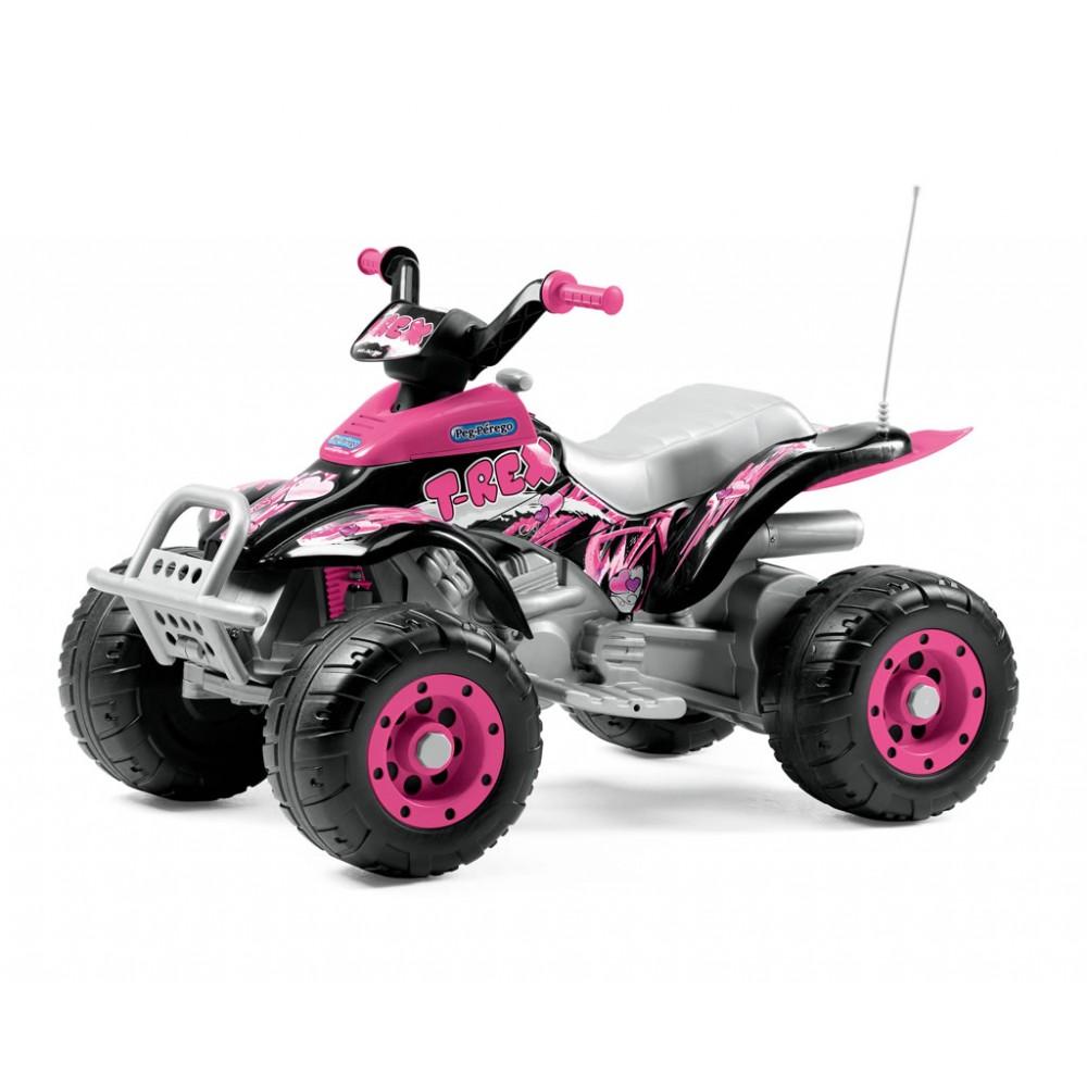Электромобиль Corral T-Rex, розовыйЭлектромобили, детские машины на аккумуляторе<br>Электромобиль Corral T-Rex, розовый<br>