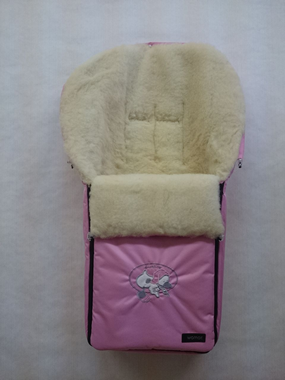 Спальный мешок в коляску №06 – Aurora, розовыйЗимние конверты<br>Спальный мешок в коляску №06 – Aurora, розовый<br>