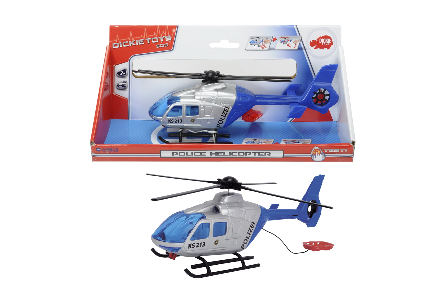 Полицейский вертолет, 24 смВертолеты<br>Полицейский вертолет, 24 см<br>