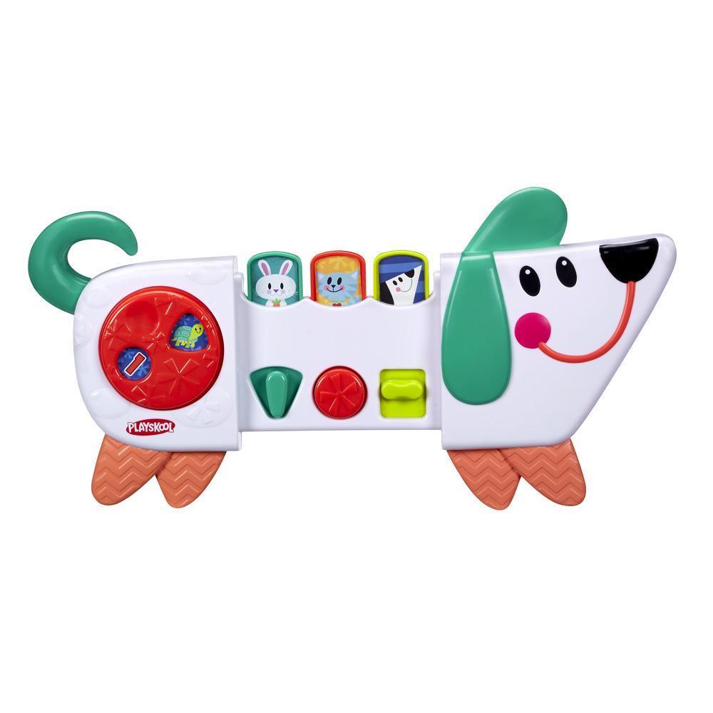 Веселый щенок Playskool - Возьми с собойРазвивающие игрушки PLAYSKOOL (Hasbro)<br>Веселый щенок Playskool - Возьми с собой<br>