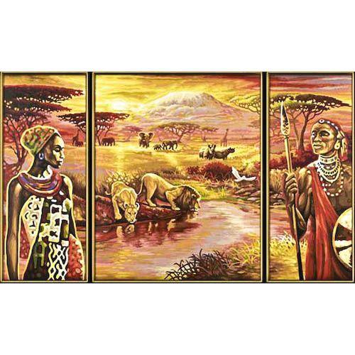 Купить Раскраска Триптих Килиманджаро, Schipper