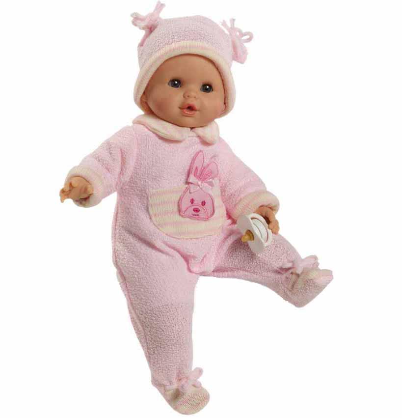 Озвученная кукла Соня в теплой одежде, 36 смИспанские куклы Paola Reina (Паола Рейна)<br>Озвученная кукла Соня в теплой одежде, 36 см<br>