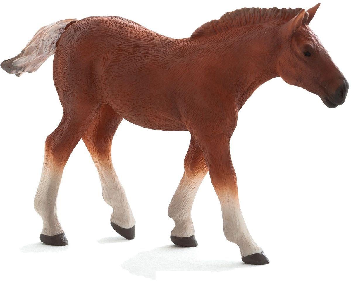 Фигурка из пластика - Жеребенок Суффолк Панч, размер 11 х 3 х 8 см.Лошади (Horse)<br>Фигурка из пластика - Жеребенок Суффолк Панч, размер 11 х 3 х 8 см.<br>
