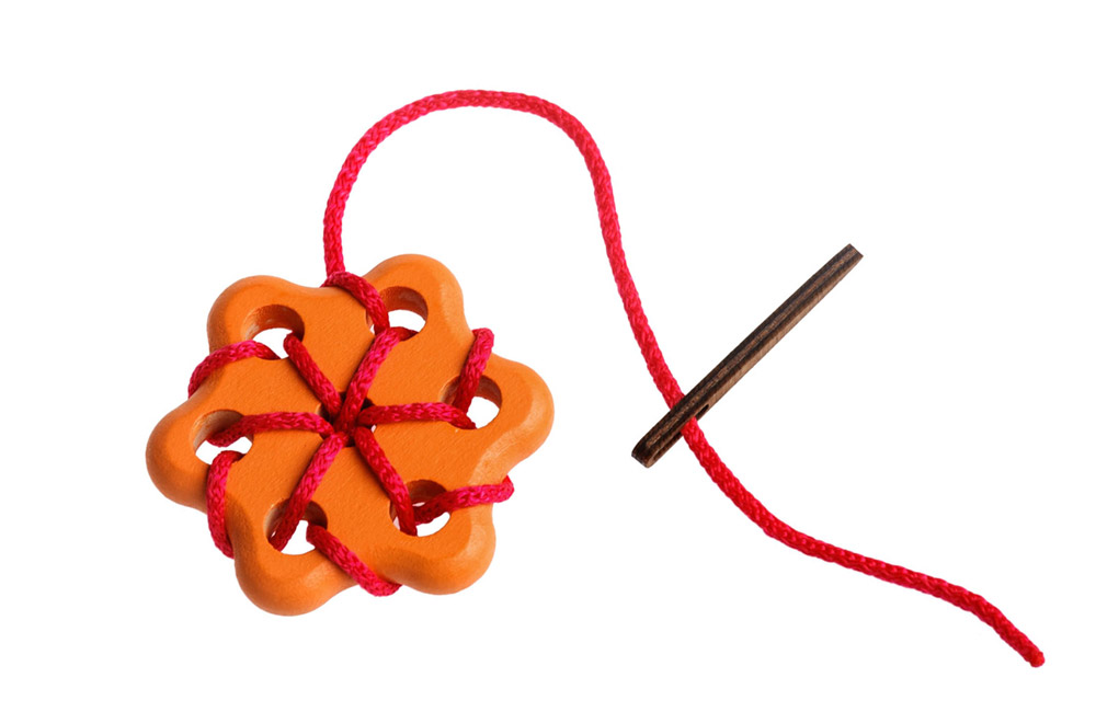 Шнуровка - Цветок 2, 3 деталиШнуровка<br>Шнуровка - Цветок 2, 3 детали<br>