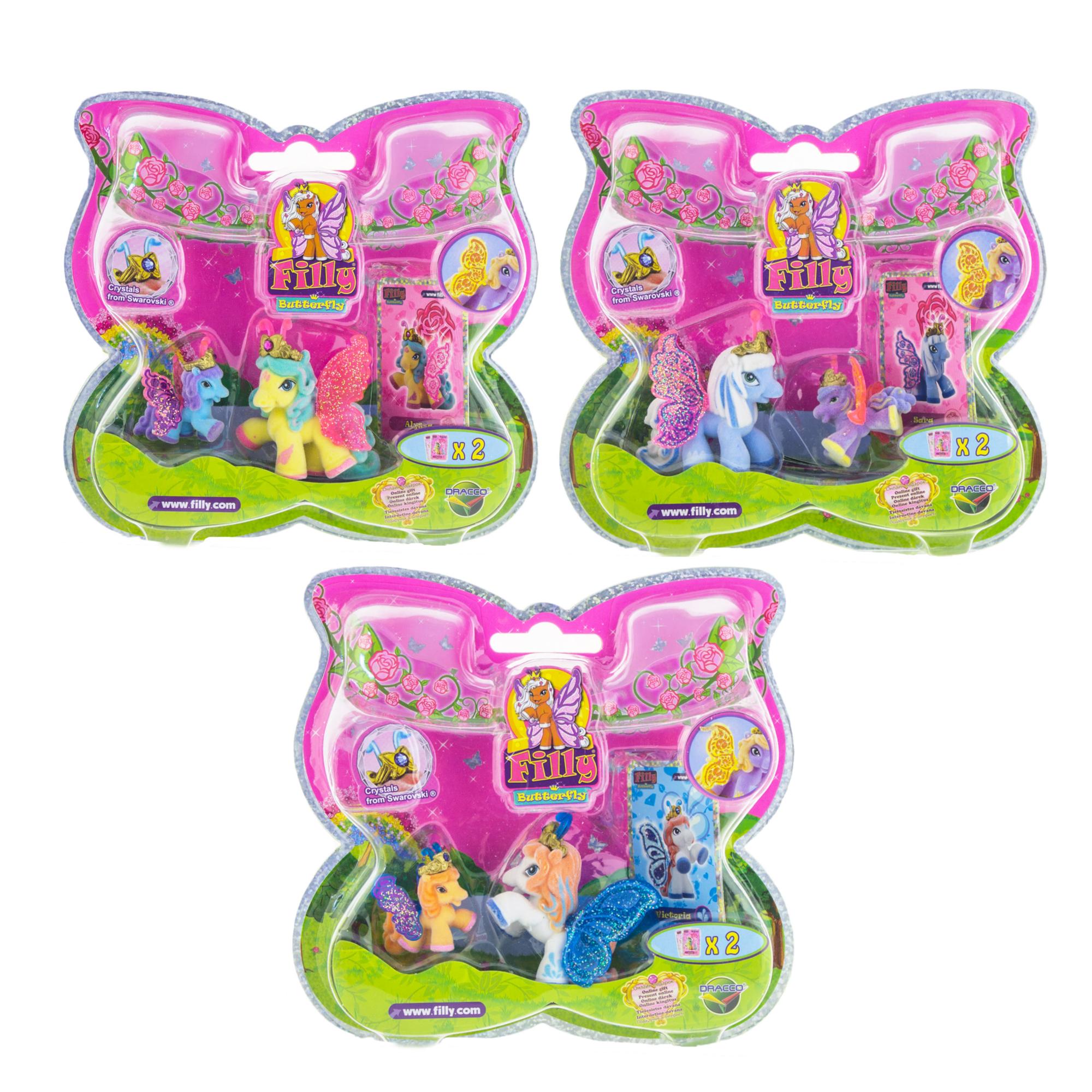 Набор игровой «Filly» - Бабочки с блестками «Волшебная семья: мини-версия»