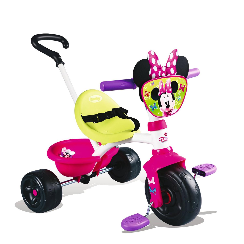 Велосипед трехколесный с ручкой «Минни Маус»Велосипеды детские<br>Велосипед трехколесный с ручкой «Минни Маус»<br>